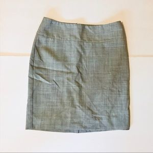Express Design Studio Grey Pencil Skirt